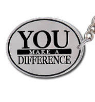 You Make A Difference Keychains