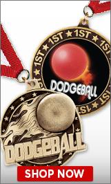 Dodgeball Medals