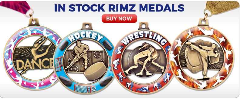 Custom Insert Rimz Medals