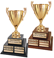 Metal Camelot Cup Perpetual Trophy