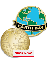 Earth Day Pins