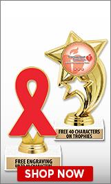 American Heart Association Trophies