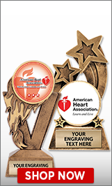American Heart Association Sculptures