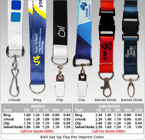 Custom Lanyards Feature