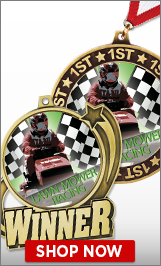 Lawn Mower Racing Medals