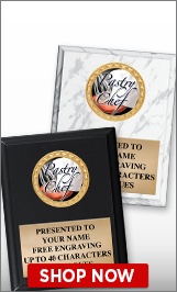 Pastry Chef Plaques