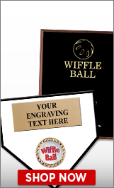 Wiffle Ball Plaques