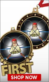 Badminton Medals