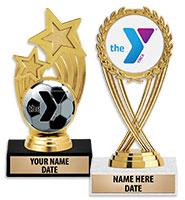 "6"" YMCA Insert Holder Trophy"