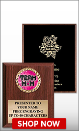 Team Mom Plaques