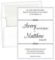 Wedding Acrylic Invitations