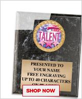 Talent Competition Plaques