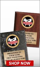 Kickboxing Plaques
