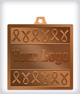 Antique Bronze Custom Awareness Medals