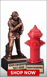 Fire Engine Sculptures