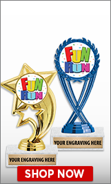Fun Run Trophies