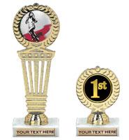 "5"" - 9"" Medallion Insert Trophies"