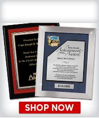 Custom Framed Plaques