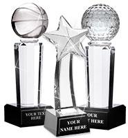 Sport Pedestal Crystals