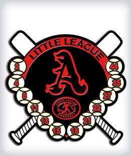 Custom Soft Enamel Little League Pins
