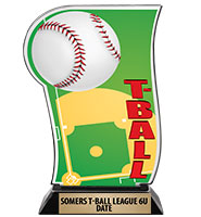 Spectrum Acrylic T-Ball Trophy