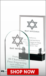 Bat Mitzvah Crystals