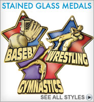 Stained Glass Medals