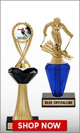 Skiing Crystalline Trophies