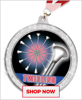 Baton Twirling Medals