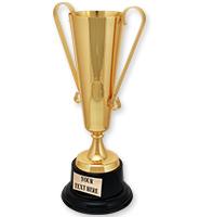 Golden METAL Tower Cup
