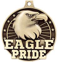 """2"""" 3D Eagle Pride Medal"""