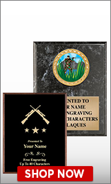 Hunting Plaques