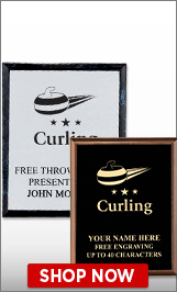 Curling Plaques