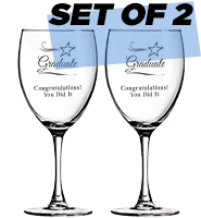 Set Of 2 Goblets 10.5oz