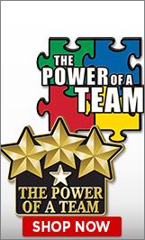 Power Of A Team Pins