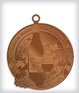 Antique Bronze Custom Community Event Medals
