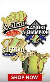 Softball Pins