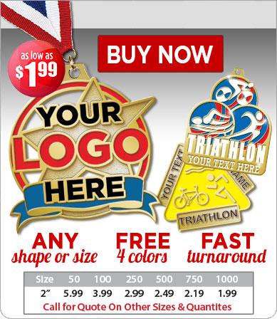 Buy Custom Triathlon Medals