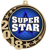 """2 3/4"""" 2018 Crescent Insert Medals"""