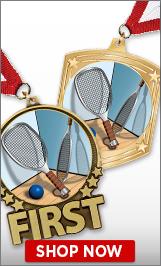 Racquetball Medals