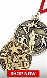 Track & Field Medals