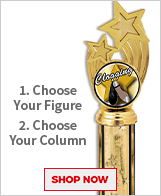 Clogging Column Trophies