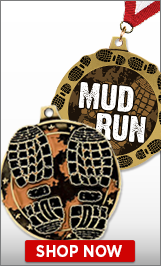 Mud Run Medals