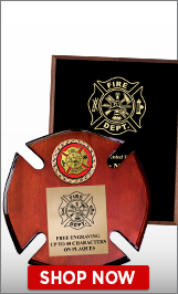 Fire Engine Plaques