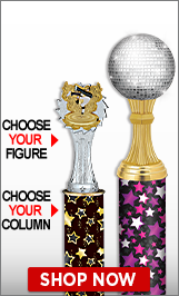 Hip Hop Column Trophies