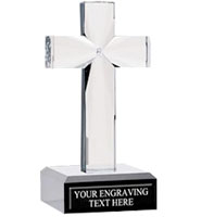 Onyx Pedestal Cross Awards