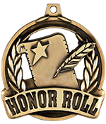 "2"" Honor Roll Achievement Medal"