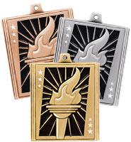 """2 1/4"""" Torch Stepz Medals"""