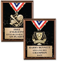 Showstopper Medal Plaque