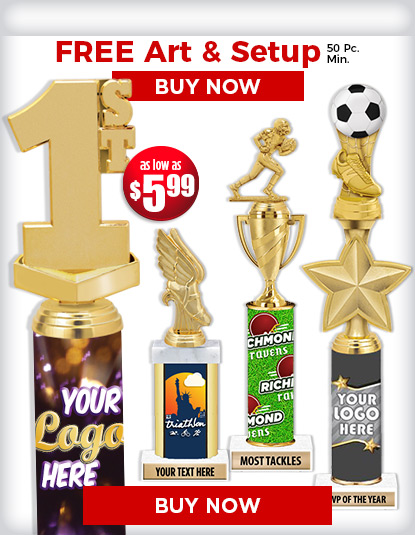 Custom Trophies | Award Trophies | Custom Logo Trophies